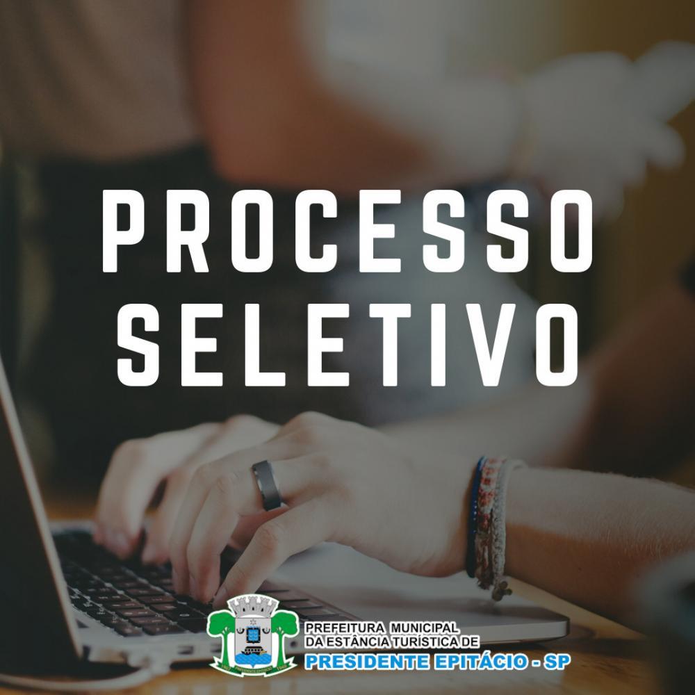 Prefeitura de Presidente Epitácio abre inscrições para Processo Seletivo