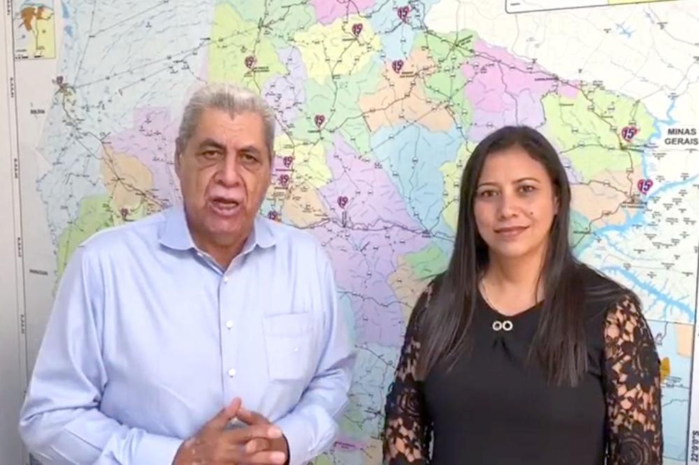 Com aval de Puccinelli, MDB lança Luci Palmeira pré-candidata à Prefeita de Anaurilândia