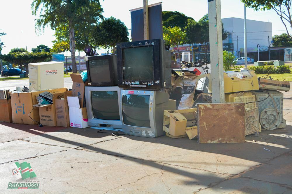 Na Semana do Meio Ambiente, Prefeitura de Bataguassu realiza campanha de coleta de lixo eletrônico